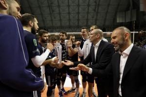 I giocatori di Milano esultano a fine partita