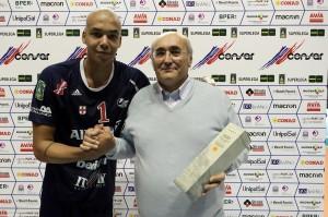 Abdel Aziz premiato MVP