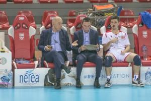 Gli allenatori Donato PALANO e Alessandro MANTOVANI - Mosca Bruno Bolzano