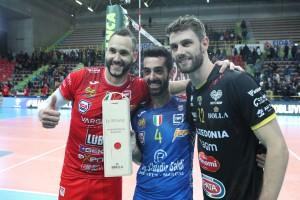 MVP Jantorena con Cester e Marchisio
