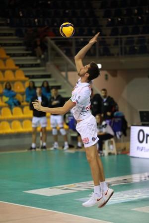 Simone Scopelliti in battuta