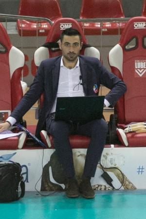Il secondo allenatore Francesco Revelli - BAM Cuneo