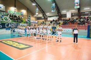 Olimpia Bergamo in campo