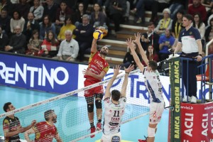 Ngapeth in attacco