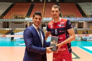 Kooy premiato MVP della gara