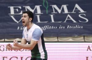 Esultanza Marra per Siena