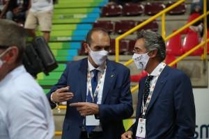 Massimo Righi e il Presidente Credem Banca, Zanon di Valgiurata