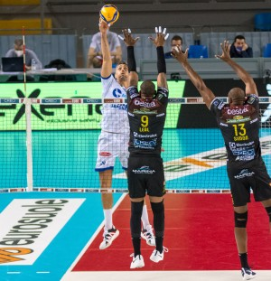 Top Volley Cisterna - Pallonetto opposto Giulio Sabbi