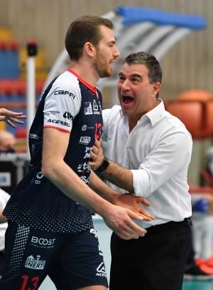 Pierotti e Coach Graziosi