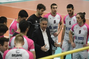 Time out coach Danilo Durand