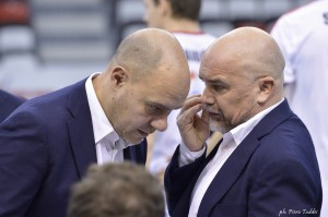 Conad Reggio : coach Mastrangelo e il 2 all. Civillini