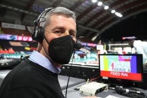 Fabio Vullo, commentatore RAI Sport