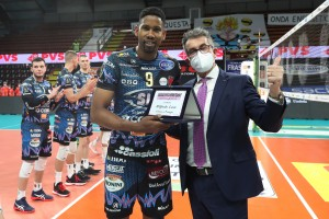 Gino Sirci e il Trofeo Gazzetta per Wilfredo Leon