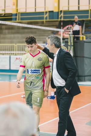Coach Durand con Santambrogio