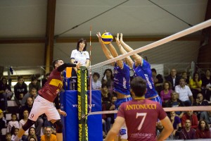 25/11/2018 Roma Volley vs Goldenplast Potenza Picena