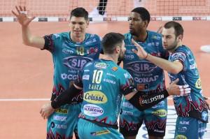 05/05/2019 Play Off Scudetto Credem Banca Gara 2: Cucine Lube Civitanova vs Sir Safety Conad Perugia